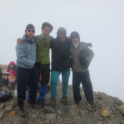 trek summit rinjani